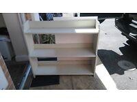 free white book shelf - free