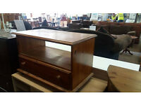 Single drawer pine TV unit (delivery available)