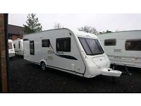 Elddis Odyssey 540 4 berth caravan 2010, Fixed Bed, MOTOR MOVER, VGC, BARGAIN !