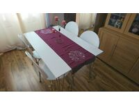 For sale New John Lewis Jasper 6 Seater Dining Table +4 chairs.