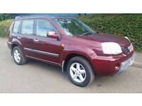 nissan 4x4 x trail 2.2 diesel 2003 6 speed manual 2 and 4 wheel drive winters coming quick sale £950