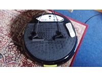 Vibration fittness plate