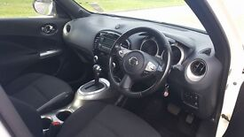 Nissan Juke Auto. One owner from new. Full service history. 2 Keys, Non smoker,Mot'd until Sep 2017