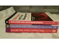 Marketing and PR books