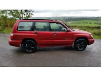 2002 SUBARU FORESTER 2.0TURBO S MOT SEPT18 LOW MILES FSH £1300 PX/SWAPZ