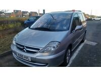 citroen c8 mpv 7 seater 2.0 hdi fully loaded full service history very low miles recent timing belt