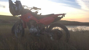 REDUCED - 06 Baja 125 dirtbike