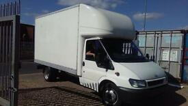 14ft Luton man and van don't delay call today same day jobs work till late