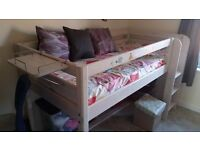 childs mid sleeper frame only OFFERS welcome. need gone asap