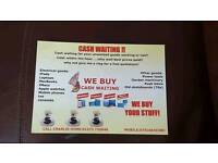 CASH WAITING FOR YOUR UNWANTED GOODS