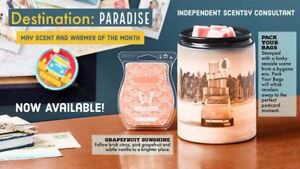 Scentsy's May warmer and scent of the month 10% off!