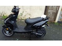 Direct Bikes moped 2015 plate