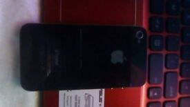 black iphone 4 8gb