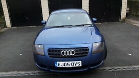 Audi TT 1.8 (180bhp) coupe. Metallic blue. Great condition. MOT til Oct 17