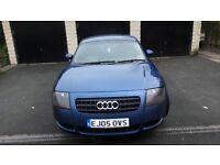 Audi TT 1.8 (180bhp) coupe. Metallic blue. Great condition. MOT til Oct 17