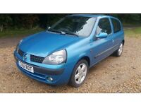 2001 CLIO 1.2 DYNAMIC LONG MOT DRIVES WELL