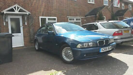 BMW 525I E39 in very good condition, very well looked after, only two owners from new