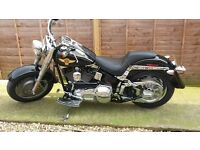 harley davidson fat boy softail 2005 , 15th anniversary edition