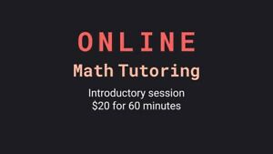 Online $20 VCE Math/science tutoring