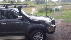 SNORKEL KIT FITTED TOYOTA HILUX KUN26 D4D DIESEL******2013 SERIE Bethania Logan Area Preview