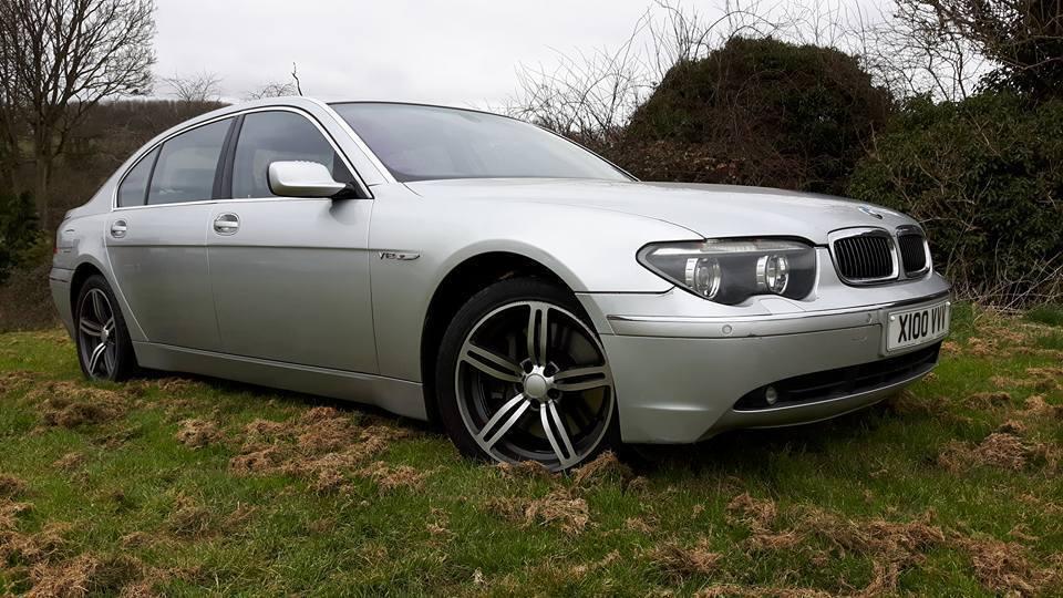 BMW 760Li 6.0 V12 2003 E66 Limo Low Mileage Not 750 745 735 E65 A8 ...