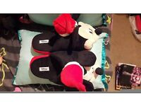 Mickey Mouse Christmas Slippers