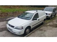 2002 vauxhall astra van 1.7 turbo diesel £650 no offers