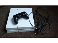 White PlayStation 500GB 4 for sale