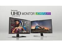"Samsung U24E850R 24"" 4K Ultra HD - 3840 x 2160 4K UHD (2160p) - MONITOR"