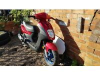 50cc 50cc MOPED SCOOTER MOTORBIKE MOTORCYCLE SYM SYMPLY 50 PERFECT FIRST SCOOTER