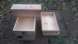 dining room decoration wood wine boxes