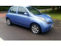 nissan micra 1.2 5 door lovely car 100% reliable exceptionally good condition cheap to run