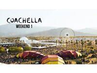 1x VIP Coachella 2018 Weekend One (April 13-15 2018)