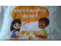 sue's stepping stones
