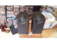 Pair Of Mordaunt Short HI - FI Speakers For Sale ( Mezzo 2 Speakers )