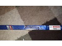 NEW BOSCH FRONT WIPER BLADES 046 S TWIN SPOILER MERCEDES S-CLASS 220 +COUPE 215 98-00 68 cm/27 inch