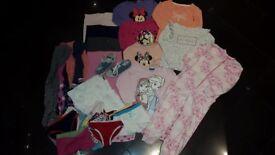 Girls Bundle Clothes 4 Years £20 (Shoes, Tops, Nightwear, Underwear, Tights etc)