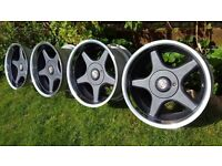 "16's Genuine alloys"" BROCK B1"" 5x100 all J9 ET15 GOLF VR6 CORRADO,CUPRA,SUBARU"