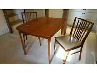 Dinning Table & 2 Chairs 1950s