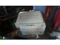 office toshiba photo copier 1370 fully working and can be seen working B/W only