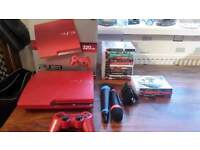 Red ps3 bundle