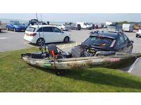 Old town predator xl Minn kota electric motor ocean kayak not Hobie