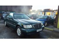"""TRADE IN TO CLEAR"" MERCEDES S CLASS (1998) - S320 - LONG MOT - AUTOMATIC - HPI CLEAR!"