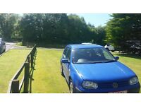 mk4 golf s breaking jazz blue and silver