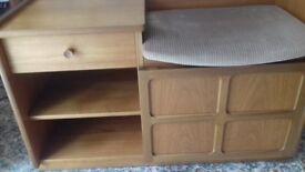Hall storage / telephone table