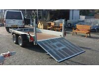 10 x 6 INDESPENSION LOW LOADER PLANT TRAILER 2740kg payload DIGGERS TRACTORS TRUCKS RECOVERY