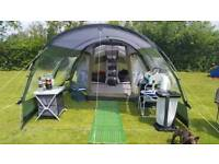Outwell Cape Coral S tent with extension, footprint and carpet Camping