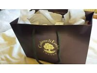 NEW, NEVER USED CRABTREE & EVELYN GIFT SET/BAG.