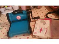 sizzix big shot and 100s of cutting dies and some embossing folders