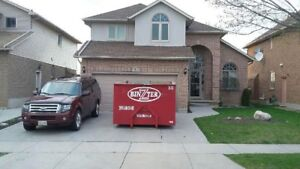 Bin Rental- Flat Rate Includes 1.5 ton/garbage only $245.